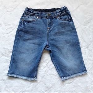 Boden Light/Medium Wash Bermuda Jean Shorts 12Y